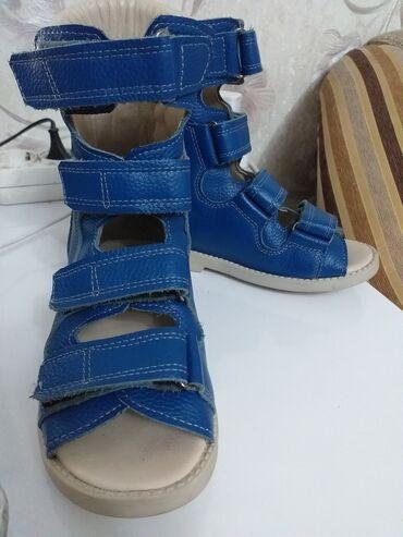 детский ортопед бишкек в Кыргызстан: Стильная ортопедическая обувь для мальчика/девочки. Высота берцы 11