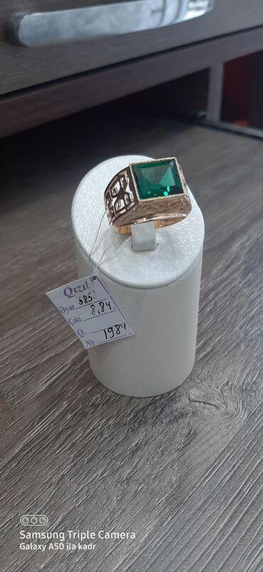 #qızıl kişi üzüyü maskva istehsalı zavod 585