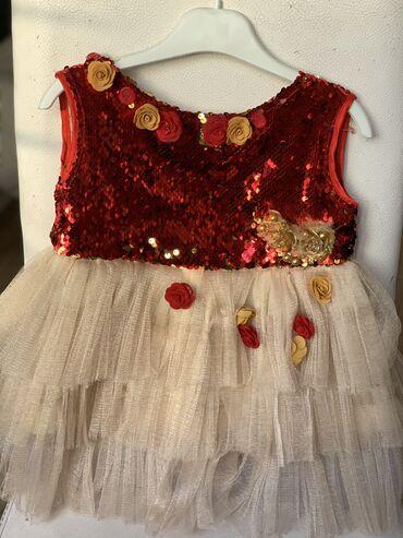 Платье нарядное на девочку 2-4 года