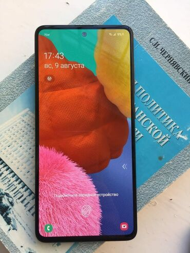5 barmaq - Azərbaycan: Samsung Galaxy A51Irşad telecomnan alınıb 3 heftədir.Hədiyyə olaraq