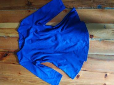 рубашка синего цвета в Кыргызстан: Блузка очень красивого цвета  новая, размер 46-48-50