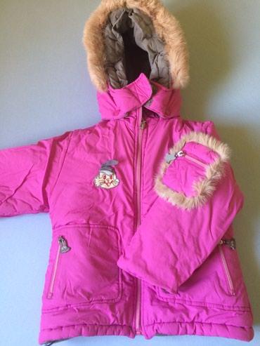 Зимний костюм (куртка и комбинезон), на 3 года, рост 98 см в Бишкек