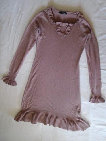 Veoma kvalitetna i prijatna za nošenje, džemper haljina od mešavine - Belgrade
