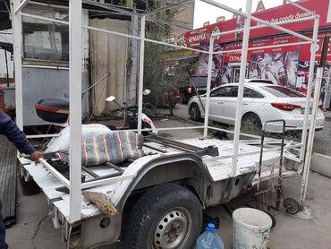 Прицепы - Кыргызстан: Продаю прицеп! сделано из рамы спринтер