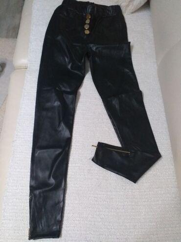 Pantalone velicina m - Srbija: Kozne helanke Velicina M