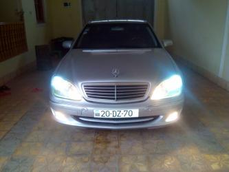 Mercedes-Benz - Gəncə: Mercedes-Benz S 320 3.2 l. 1999   355720 km