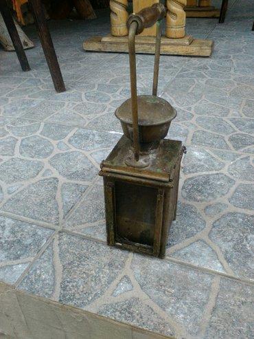 Lampa na gas,jugoslovenska zeleznica,potpuno ispravna 1961 godiste. - Knjazevac