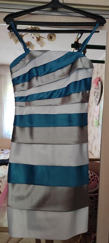 вечерние платья кыргызстан in Кыргызстан   МАТЕРИНСКИЕ ПЛАТЫ: Вечернее платье, 42й размер, производство Кыргызстан, одевалось два
