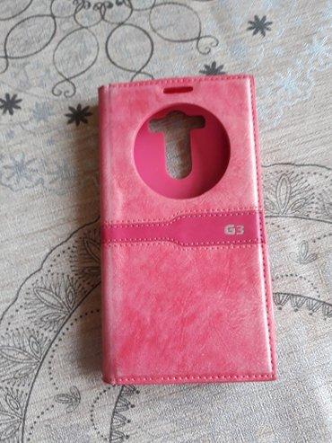Maska za lg g3 na preklop, roze boje, aktivna, veoma kratko koriscena, - Nis