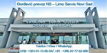 Novi Sad  Aerodrom Osijek  Novi Sad taxi prevoz transfer - Novi Sad