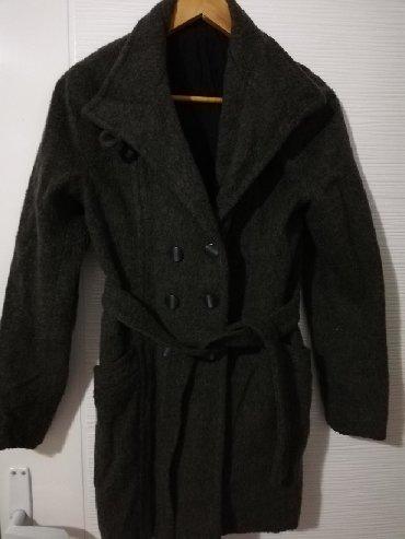 Nov kaput, rađen po meri, obučen par puta, topao - Obrenovac