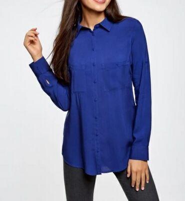 sumku oodji в Кыргызстан: Продаю новую блузку от фирмы Oodji. Материал штапель. Размер 36 (42)