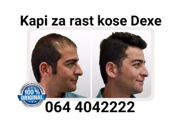 Kapi za rast kose i brade Dexe  - Belgrade