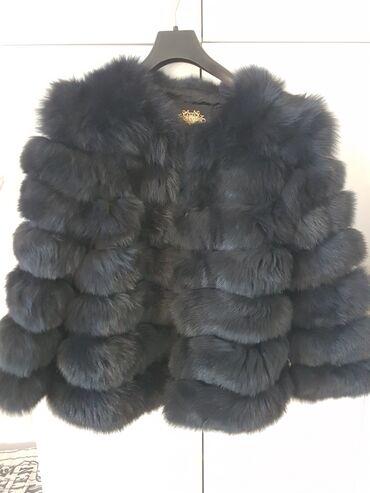 Krzno - Srbija: Pravo krzno, bunda vel. XL   Materijal: Krzno je polarne lisice.  Bo