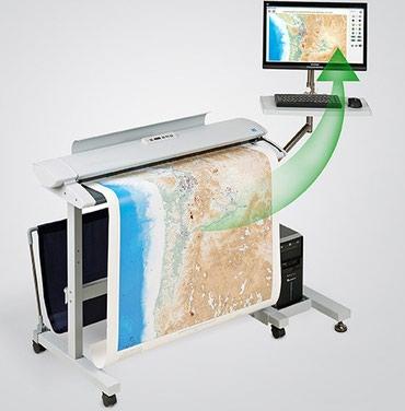 Сканер больших форматов!Сканирование проектов, карт