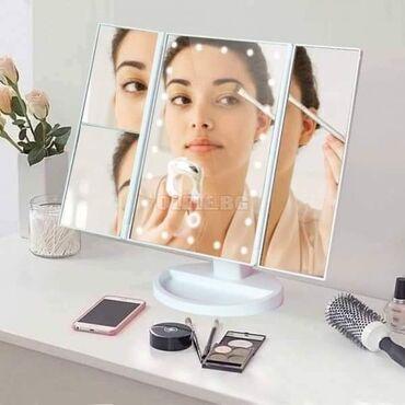Podna lampa - Zajecar: DOSTUPNO Ogledalo sa LED lampicama je pravi hit. Našminkajte se u
