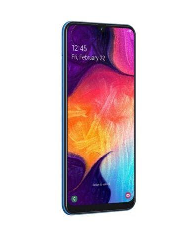 зарядка meizu в Кыргызстан: Б/у Samsung A50 128 ГБ Голубой