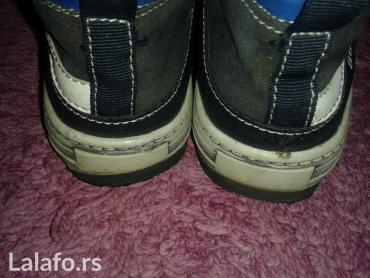 Decije duboke cipele,Davy,br 32,nosene jednu jesen,popravljene pete - Novi Sad