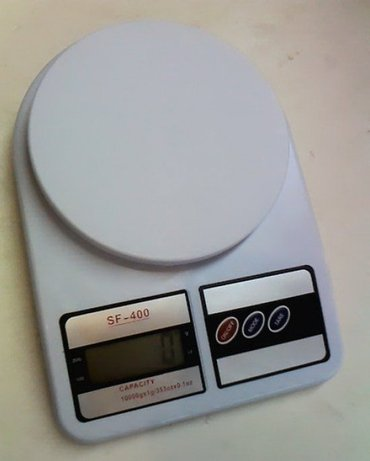 Digitalna vaga 1-7 kg odlicna digitalna vaga, meri od 1 gram do 7 - Boljevac