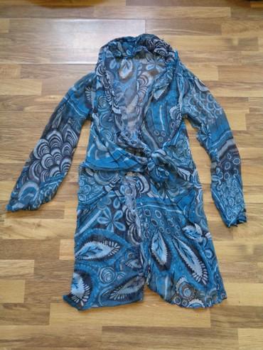 женские купальники с высокой талией в Азербайджан: Пляжная прозрачная накидка-халат  Длина от плеча 92 см  Ширина в спине