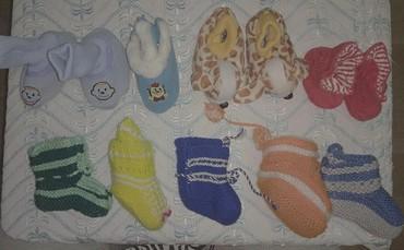 шапочки и пинетки зефирки в Кыргызстан: Пинетки, тапки, тапочки, тканевые пинетки для детей от 0 до 2 лет