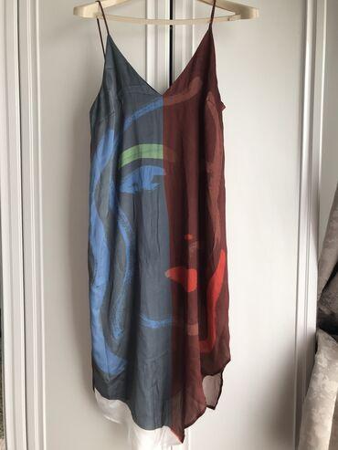 shapka zara dlja devochki в Кыргызстан: Платье Свободного кроя Zara S