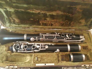 Флейты - Азербайджан: Endirim.A klarnet ağac.Əla vəziyyətdə.650 man.Ünvan Nərimanov.çatdırma