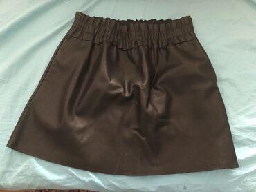 NOVA RESERVED suknja iznad kolena, 100% poliuretan