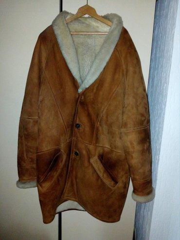 Od-koze-dimenzije - Srbija: Mclaud muska jakna od jagnjece koze i krzna,br. 56,ocuvana,bez