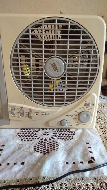 юсб вентилятор в Азербайджан: Продается Фонарь с вентилятором со встроенным радио приемником FM час