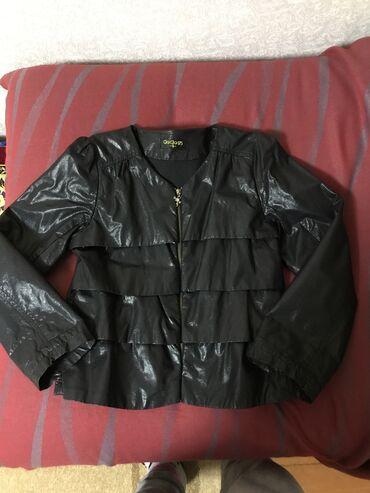 Куртка кожзам отличного качества почти новая, пару раз успели надеть