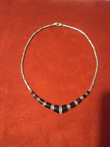 Religijski nakit - Srbija: Ogrlica, srebro 925