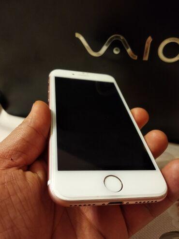 iphone 7 купить бу в Кыргызстан: Б/У iPhone 7 128 ГБ Розовое золото (Rose Gold)
