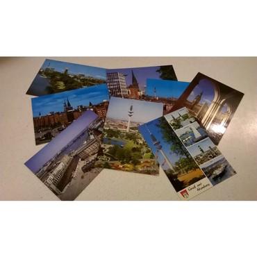 8 Καρτ Ποστάλ - Hamburg   Καινούργιες