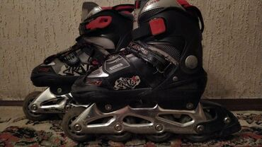 Роликовые коньки Tian-E in-line skates, р. 31-32-33-34, ABEK-7, 82A