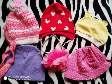 Детские шапочки и панамки.Отдам в Бишкек