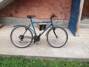 Zenskicine samo - Srbija: Na prodaju bicikla od 26 cola sa novim gumama, bicikl ima 21 brzinu