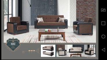Диван и кресла. Местное фабричное в Bakı