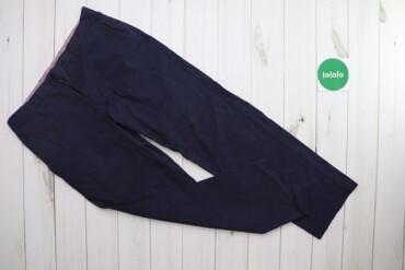 Чоловічі штани у тоненьку смужку Benetton, p. L    Довжина: 97 см Довж