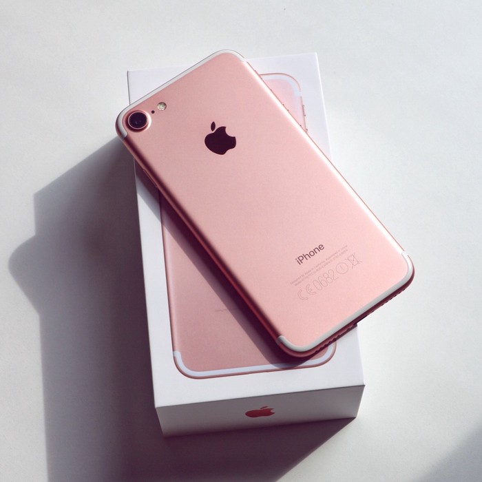 IPhone 7 new pink