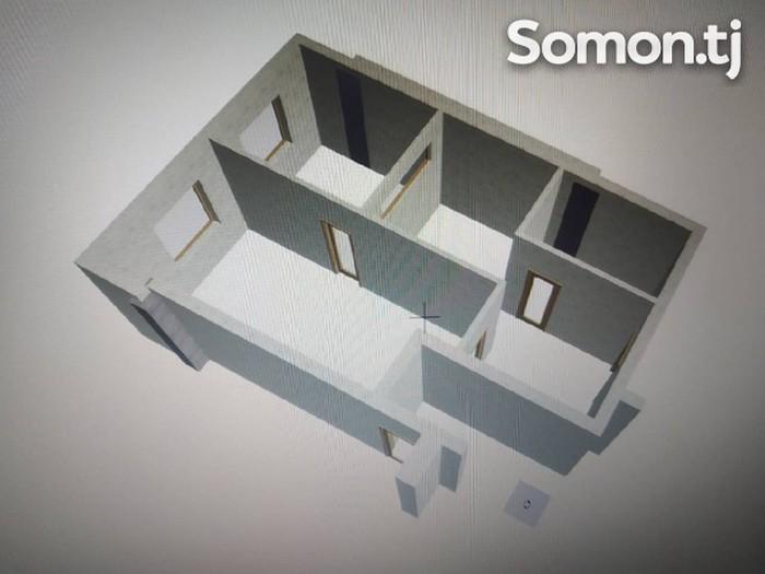Продается квартира: 1 комната, 52 кв. м., Душанбе. Photo 3