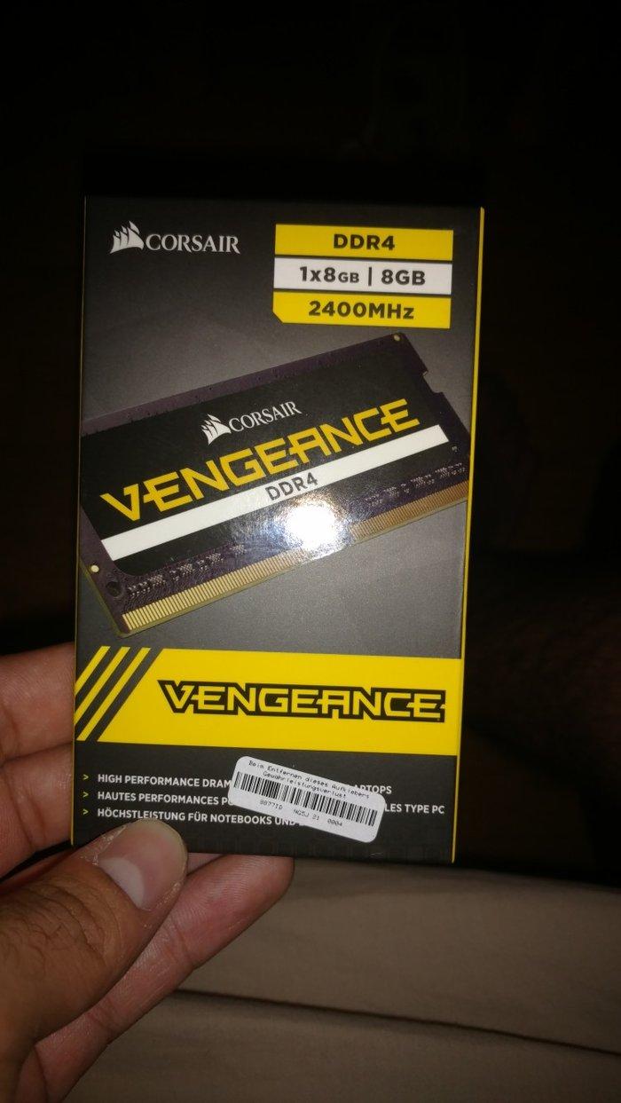 Corsair Vengeance μνήμη RAM 8GB 2400 MHz για laptop. σε Αθήνα