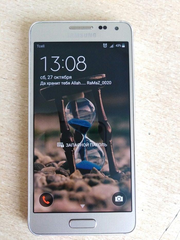 Samsung alpha 32GB 4G(LTE) отпечатка дубайский. Photo 0
