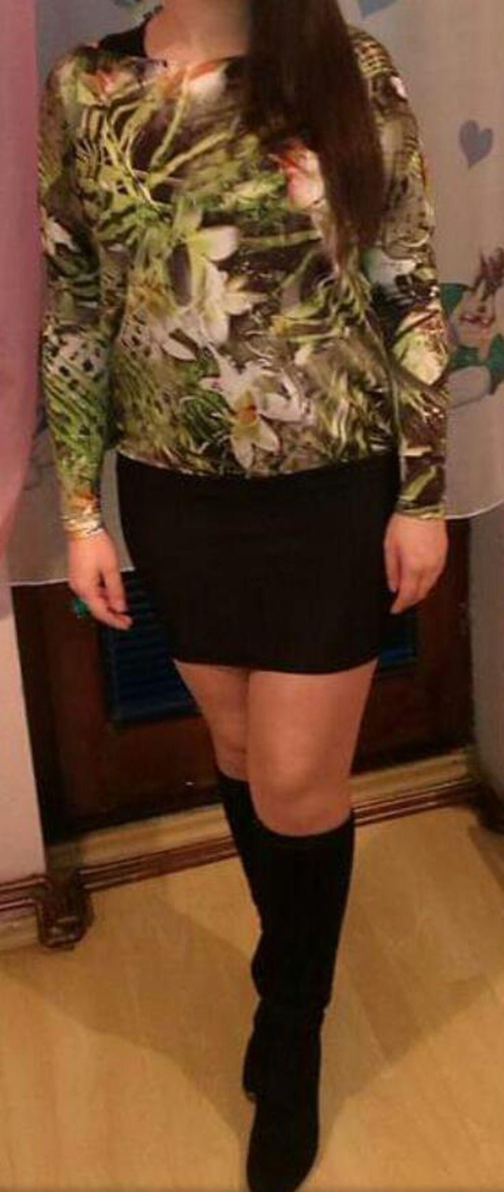 Haljina, može da se nosi i kao tunika
