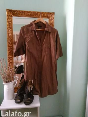 H&m shirt dress μεγεθος 44 (medium -large)