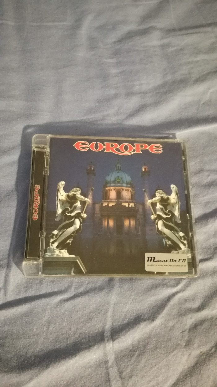 Europe Self titled album. Music on CD Remastered version.. Photo 0