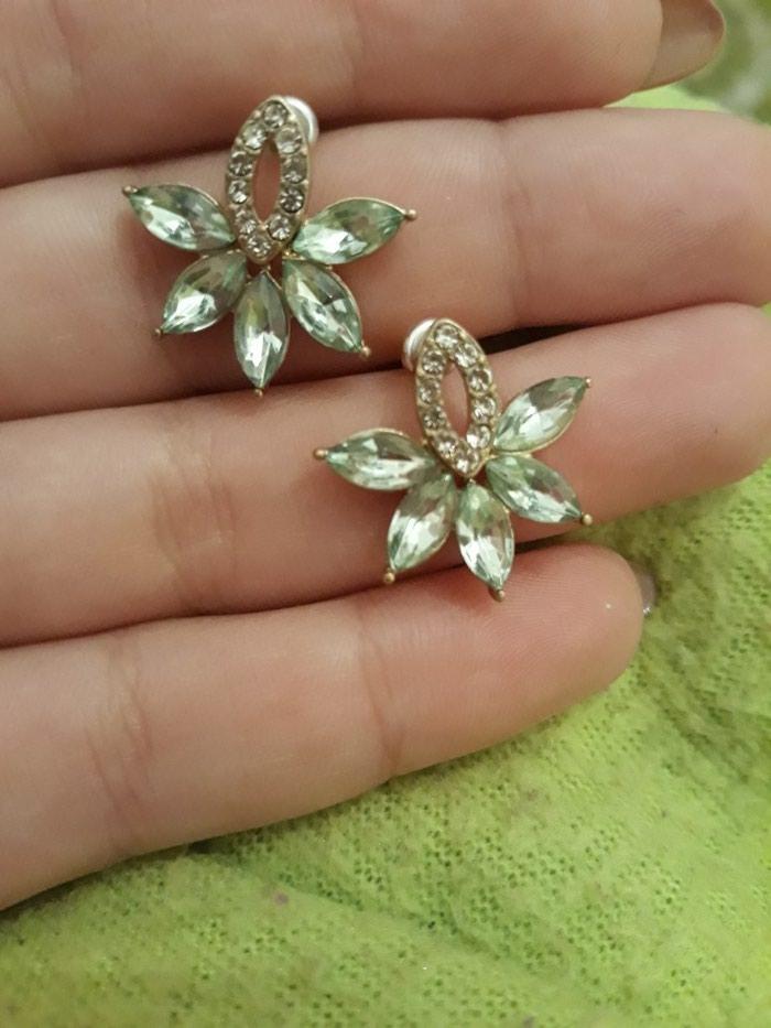 Θαλασσί σκουλαρίκια  σε Kallithea