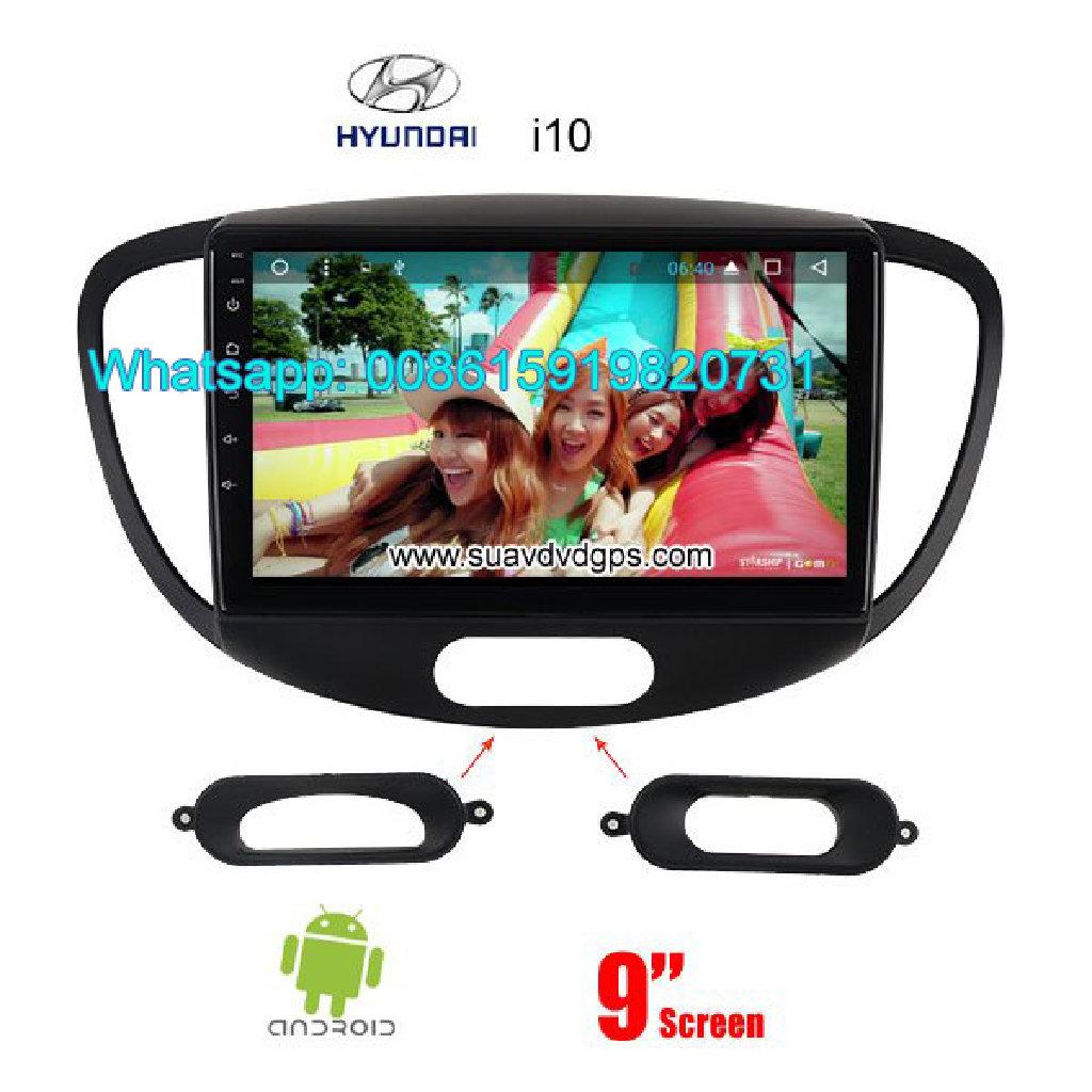 Hyundai i10 radio GPS android