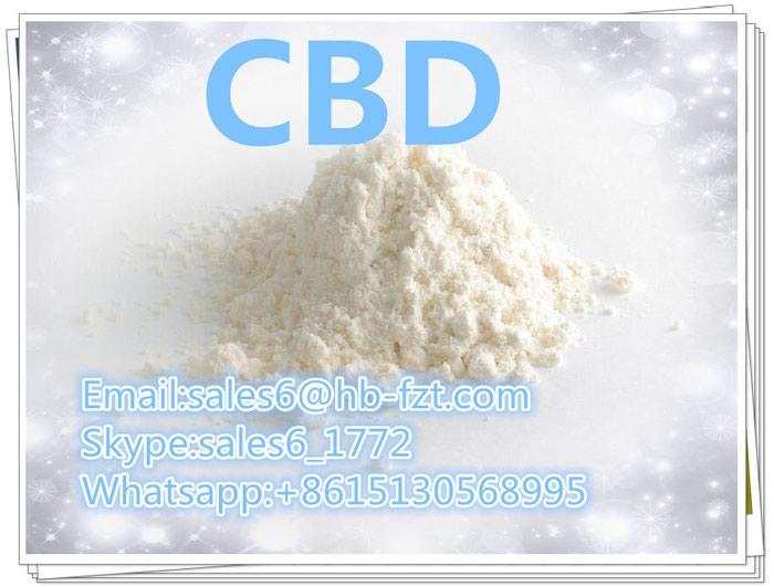 High purity Chinese CBD white powder,high quality and best price. Photo 0