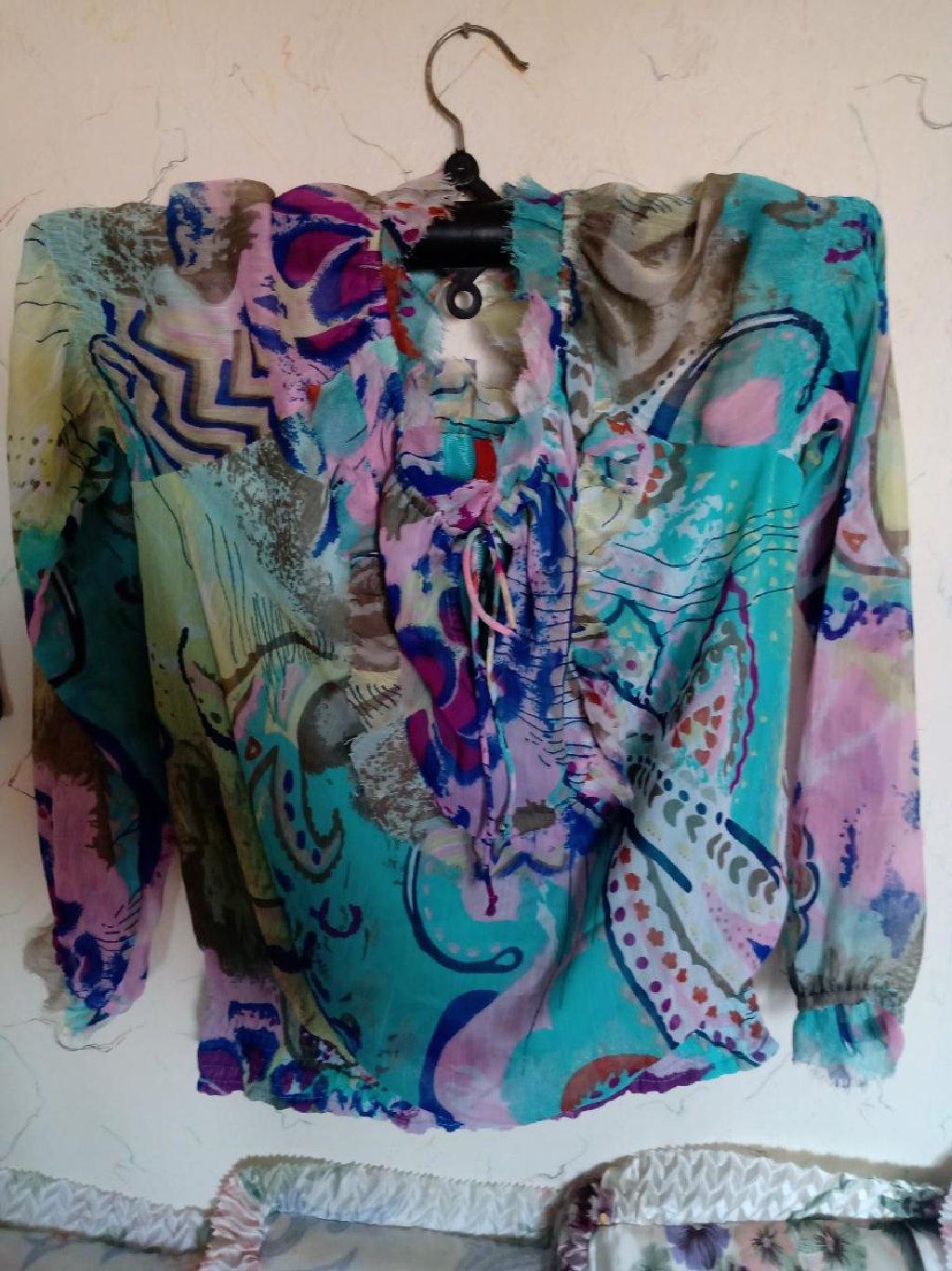 Košulje i bluze - Kraljevo: Bluza zenska letnja nova sa podstavom